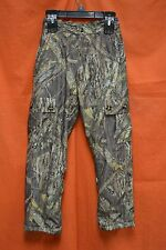 DRAKE WATERFOWL MST Fleece Lined Pant Youth (12) #DW3030-MOShadowBranch-12