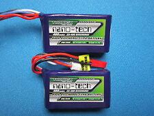 NANO-TECH 460mAh 3S 11.1V 25-40C LIPO BATTERY BLADE 180CFX EDGE 540QQ P-51D 280