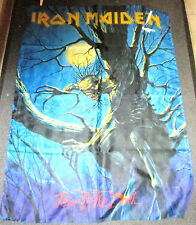 IRON MAIDEN TEXILE POSTER FLAG  RARE NEW NEVER OPENED FEAR OF THE DARK