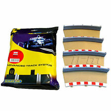 SCALEXTRIC C8239 4 x Rad 2 Outer Borders Barriers x 1 pack 1:32 (PL)