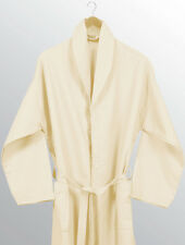 OFF-WHITE EGYPTIAN HOUSE COLLECTION 100% COTTON WAFFLE BATHROBE BATH ROBE CREAM