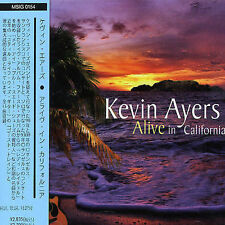 Alive in California by Kevin Ayers (CD, Dec-2004, Vivid Sound) Japan import