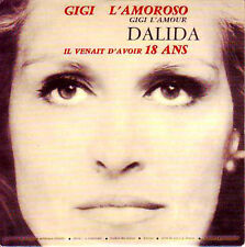 ★☆★ CD SINGLE DALIDA Gigi L'amoroso -  2-track CARD SLEEVE VERY RARE   ★☆★