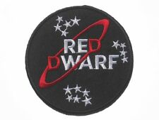 Red Dwarf Series Logo embroidered badge Patch 8.5x8.5cm 3.5""
