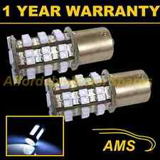 2X 382 1156 BA15s XENON WHITE 48 SMD LED HI-LEVEL BRAKE LIGHT BULBS HBL202201