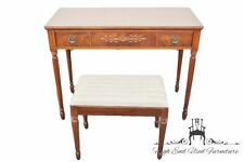"Grand Rapids Furniture Makers Guild 40"" Dresser Table / Vanity w/ Bench"
