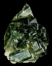 """2.5"""" Pristine Wet Look Green APATITE Crystals Floater Sapo Mine Brazil for sale"""
