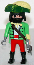 PIRATES CAPTAIN Playmobil to Pirate ship to 6679 6678 vs Red coats Frenchman 944