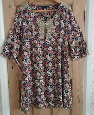 Boden Ladies Floral Dress with Bell Sleeves Size 14L