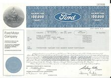 FORD MOTOR COMPANY......1977 STOCK CERTIFICATE