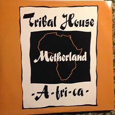 TRIBAL HOUSE • Motherland A-fri-ca • Vinile 12 Mix • 1990 Cooltempo