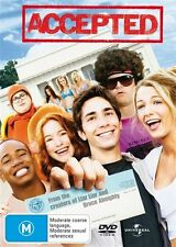 ●● ACCEPTED ●● (DVD, 2007) Columbus Short, Justin Long, Blake Lively