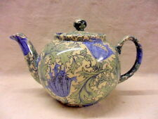 William Morris vintage anemone design 2 cup teapot by Heron Cross Pottery