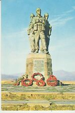 Vintage unused Scotland Postcard Commando Memorial, spean Bridge, 3795