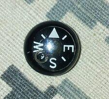 9mm button nano compass (micro compass) navigation, EDC, SERE, Escape & Evasion