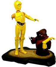 Star Wars C3PO and  Jawas Gentle Giant Statue Maquette New from 2006