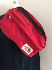 Vintage North Face Fanny Pack Lumbar Bag Large Size Red