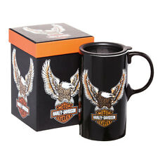 Harley Davidson travel coffee cup 20oz Tall Boy Mug Boxed Motorcycle gift