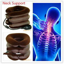NECK TRACTION SUPPORT AIR PNEUMATIC 3 layers NECK SUPPORT Headache Shoulder Pain