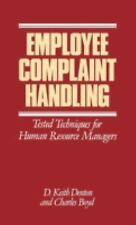 Employee Complaint Handling: Tested Techniques for Human Resources Man-ExLibrary