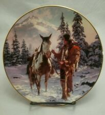 """Collector Plate-Hamilton Collection The Last Warriors """"Morning of Reckoning"""" -LE"""