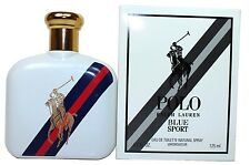 Polo Blue Sport By Ralph Lauren 4.2 oz Edt Spray For Men New In Demostration Box