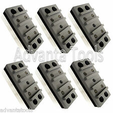 6PK Diamond Grinding Polishing Blocks for Concrete Floor Grinders 30/40 Grit