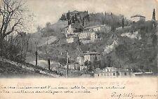 4151) BOLOGNA, PANORAMA DEI MONTI FUORI PORTA D'AZEGLIO. VIAGGIATA.