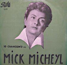 MICK MICHEYL bourgeois de calais/bel ami/l'epouvantail/si c'est vrai LP 25cm VG+