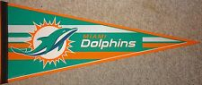 "2012 NFL Miami Dolphins 30"" Team Pennant"