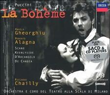 Puccini: La Boheme, 2 SACDs, Chailly/La Scala Orchestra and Chorus, Decca
