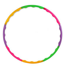55CM Adjustable Colorful Kids Hula Hoop Child Sports Aerobics Fitness Gymnastic