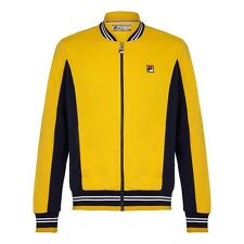 Fila Vintage Settanta Bj Borg Yellow (New Arsenal Away Colour) Track Top- Small