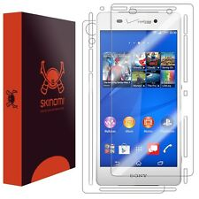Skinomi Transparent Tech Skin+Clear Screen Protector for Sony Xperia Z3V