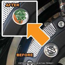 Brembo Front Brake Caliper Insert Set For Harley - IRISH CLOVER - 100