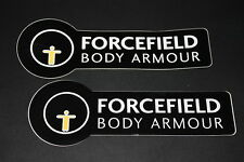 +109 Forcefield Body Armour Protector Schutz Aufkleber Decal Sticker Autocollant