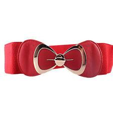Various Womens Buckle Wide/Thin Stretch Elastic Waist Belt Waistband Dress Belts