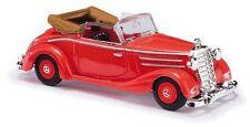 Busch 40510 HO (1/87): Mercedes-Benz 170S, cabrio open, rood