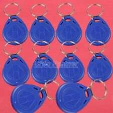 10pcs EM4305 125Khz Writable Rewrite RFID Tokens Blank Card DE