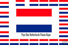 Assortiment10 autocollants Vinyle stickers drapeau Netherlands-Paises-Bajos