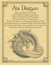 Air Dragon Parchment for Book of Shadows Page!