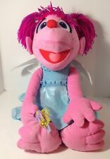 SESAME STREET ABBY CADABBY PLUSH! LARGE SOFT DOLL STUFFED TOY FIGURE 26""