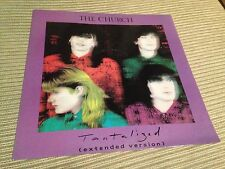 """THE CHURCH - TANTALIZED 12"""" MAXI UK PROMO  - INDIE POP"""