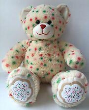 Build A Bear Christmas Cookie Sprinkles Bear Plush