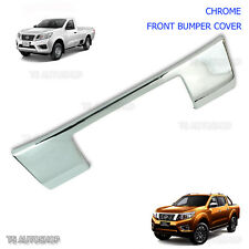 Chrome Front Bumper Plate Cover For Nissan Navara NP300 D23 2015 2016 2017 UTE