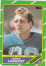 STEVE LARGENT 1986 Topps Football card #203 Seattle Seahawks NR MT