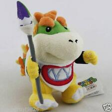 "Super Mario Bros 7"" Brush Pencil Baby Bowser Koopa Stuffed Animal Plush Toy Doll"