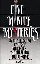Five-Minute Mysteries : 37 Challenging Cases of Murder and Mayhem for You to Sol