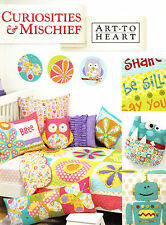 Curiosities & Mischief - fun quilts and more project book by Art to Heart