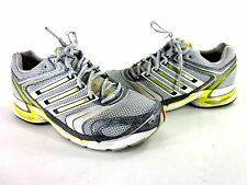 ADIDAS WOMEN'S ADISTAR SALVATION COMFORT RUNNING SHOES GREY/WHT/LMN US SZ 8.5 M